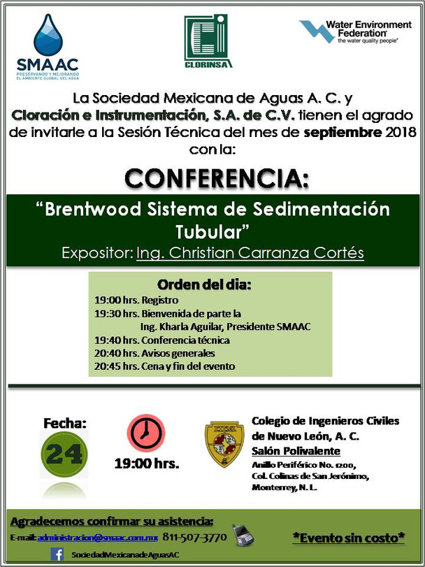 Sesión técnica mensual-24 sept. 2018