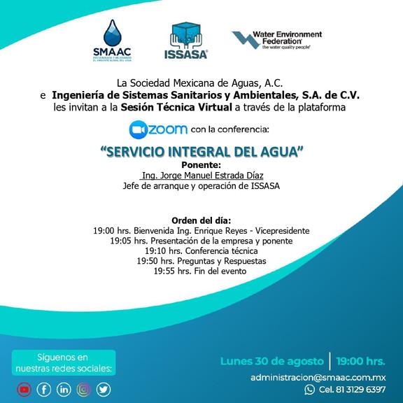 Sesión Técnica Virtual ISSASA