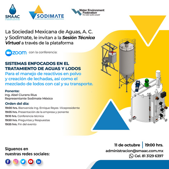 Sesión Técnica Virtual Sodimate México