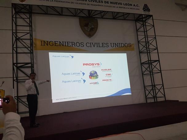 Sesión Técnica: Aguas Latinas México, S. de R.L. de C.V.