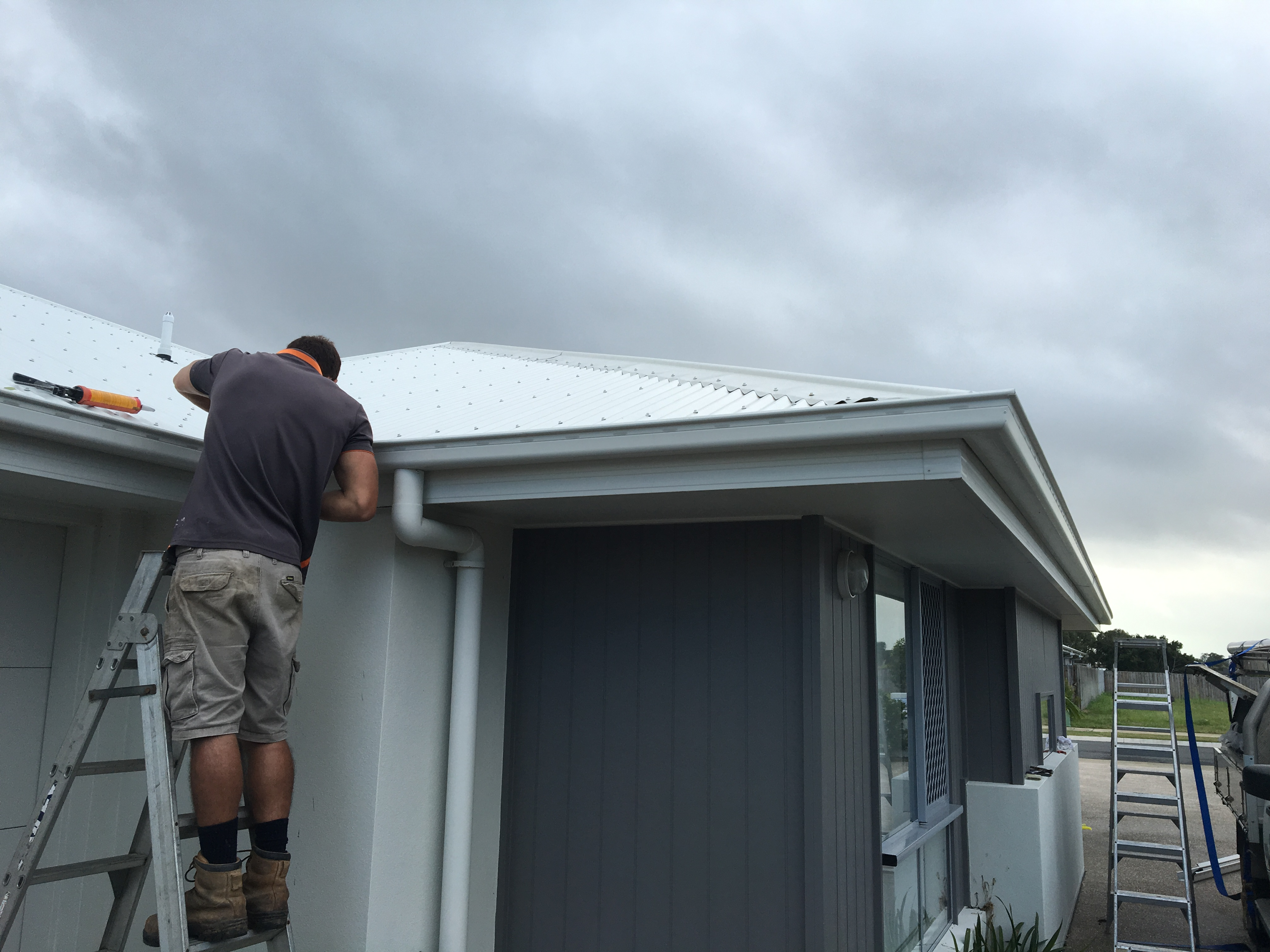 Downpipe installation Mackay