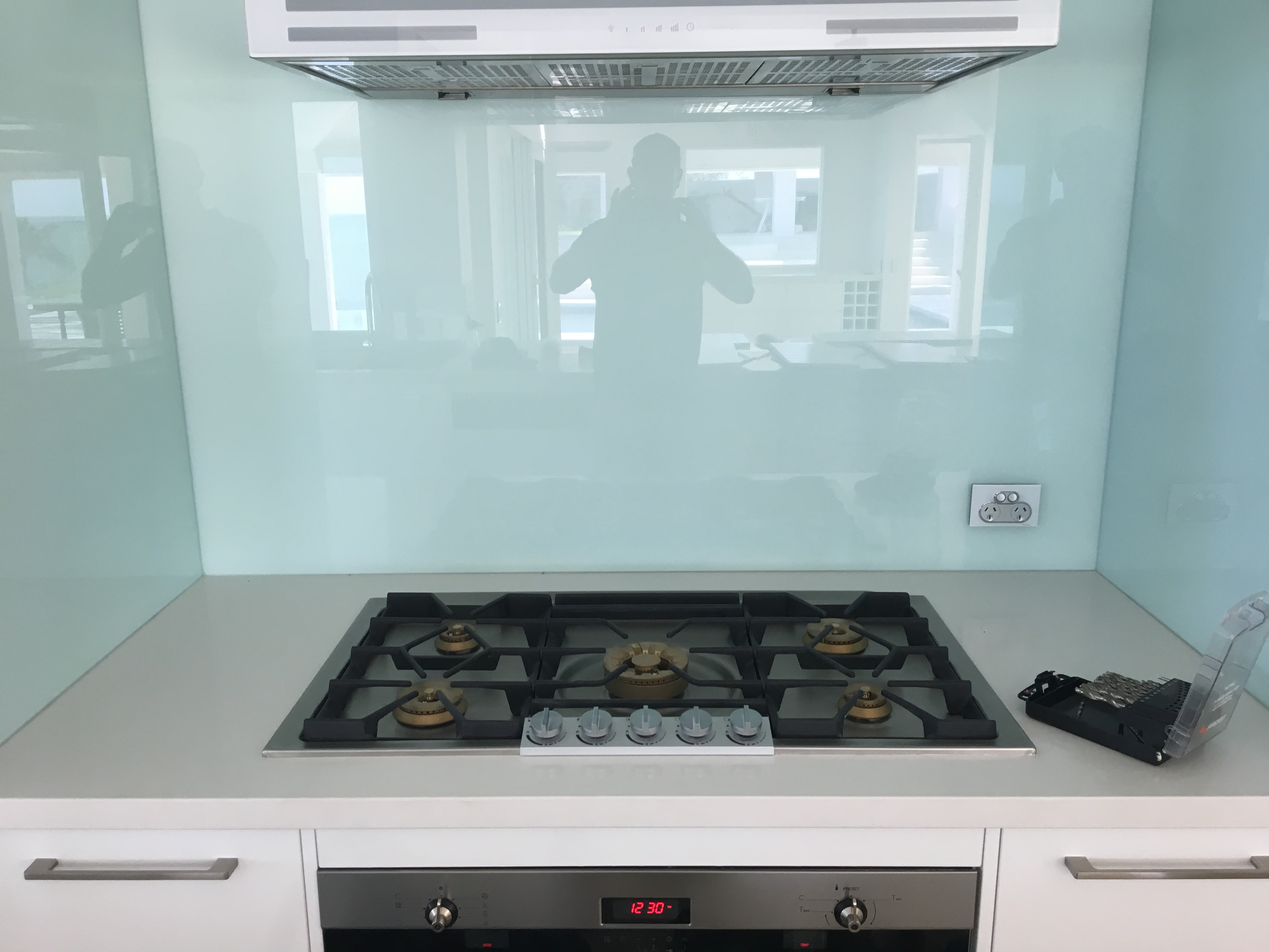 Gas cooktop install Mackay