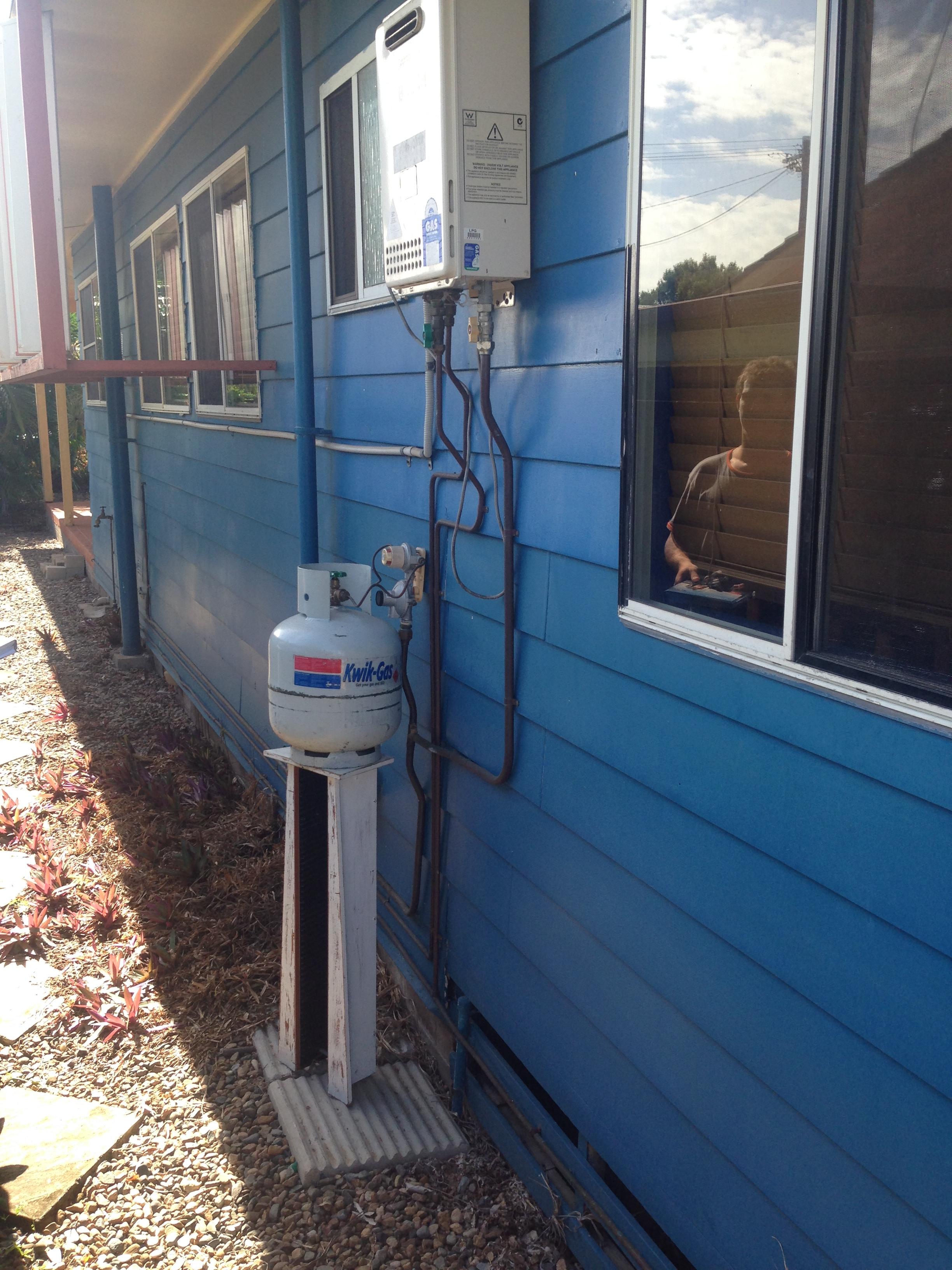 Gas system installation Mackay