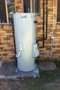Solar Ark Hot Water System Install