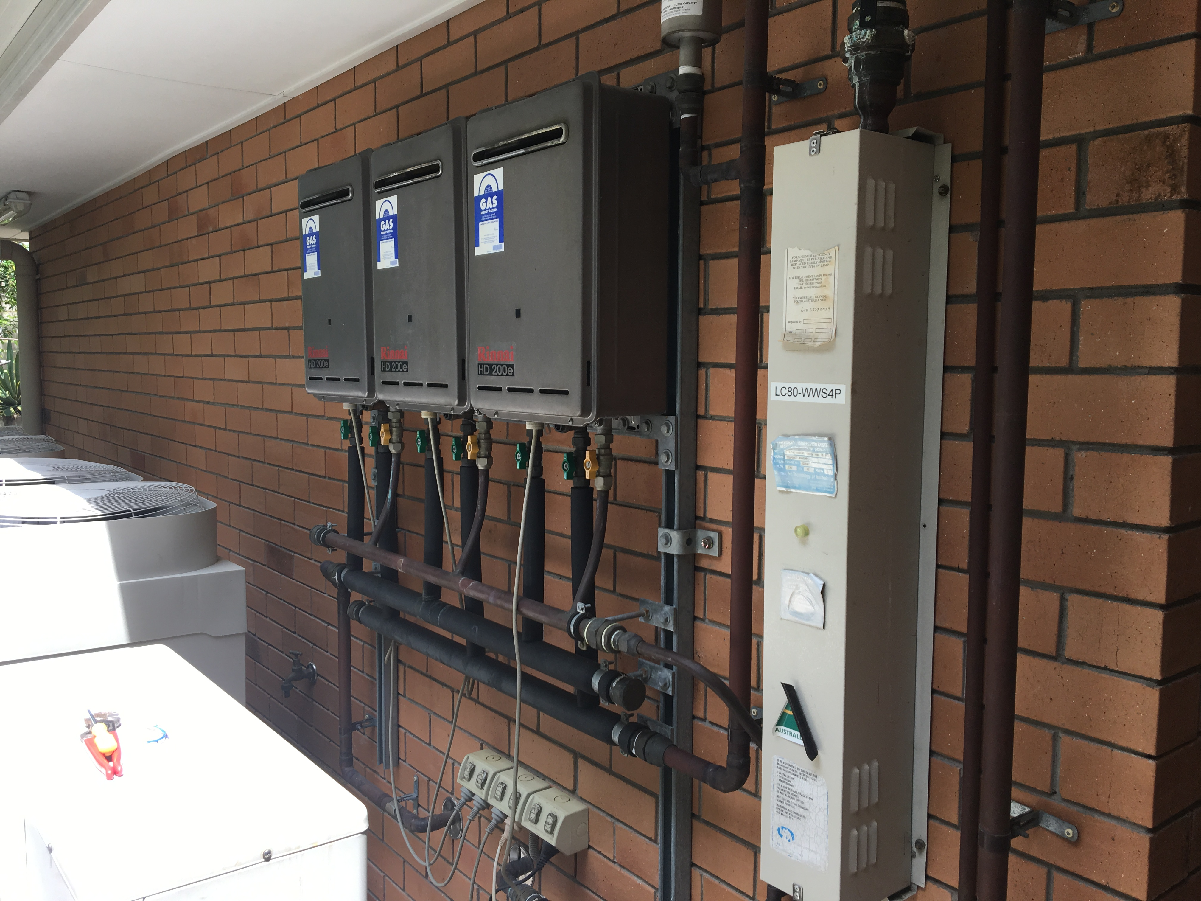 Gas hot water heaters Mackay