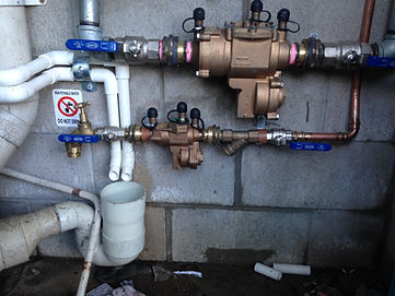 Backflow prevention, commission and maintenance