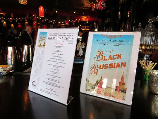 The+Black+Russian+paperback+launch+party