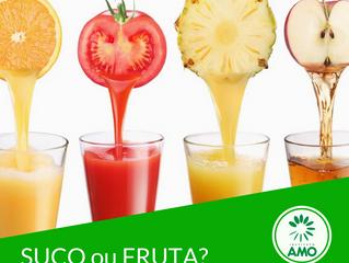 Suco ou fruta?
