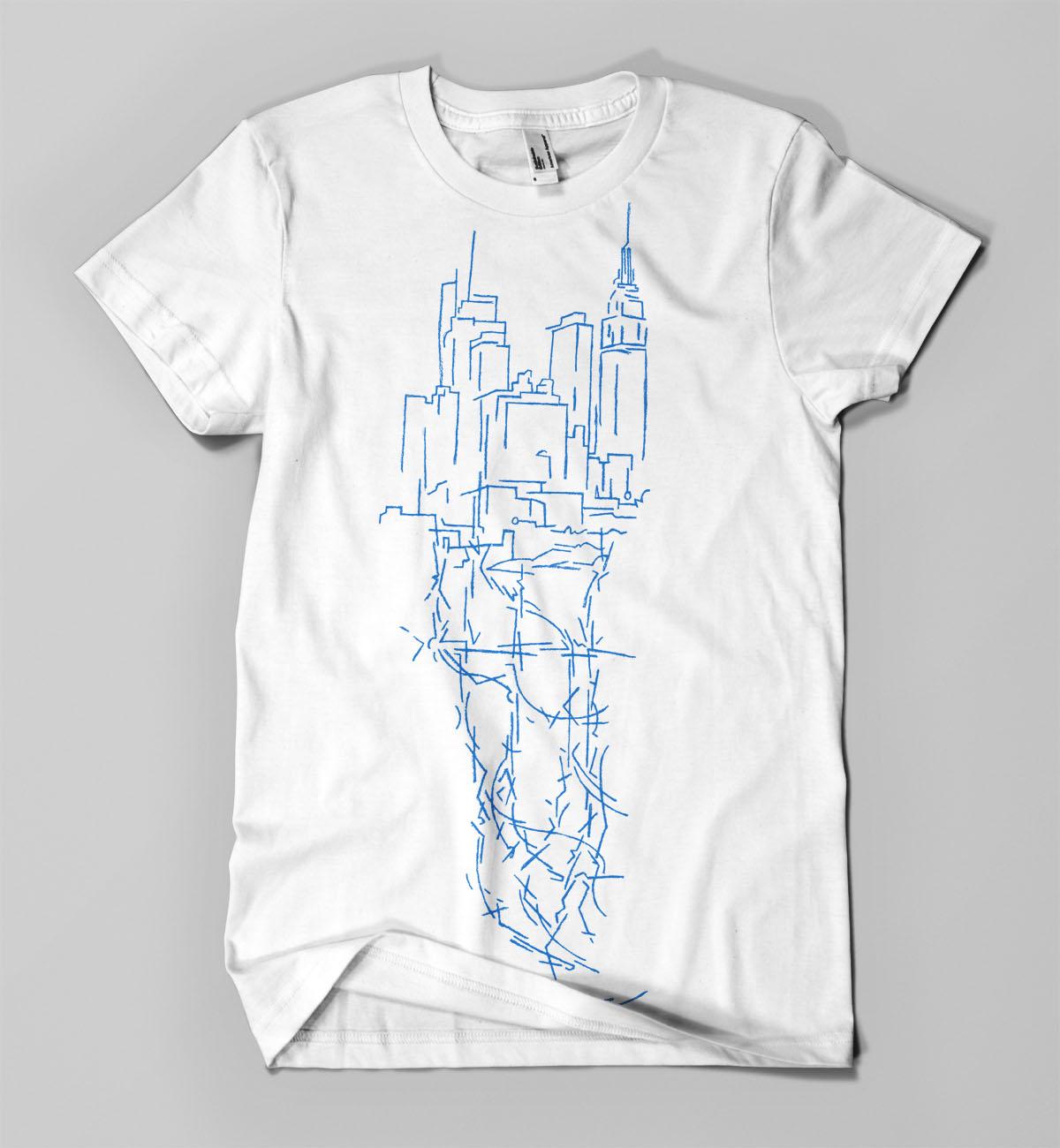 City Veins (white)