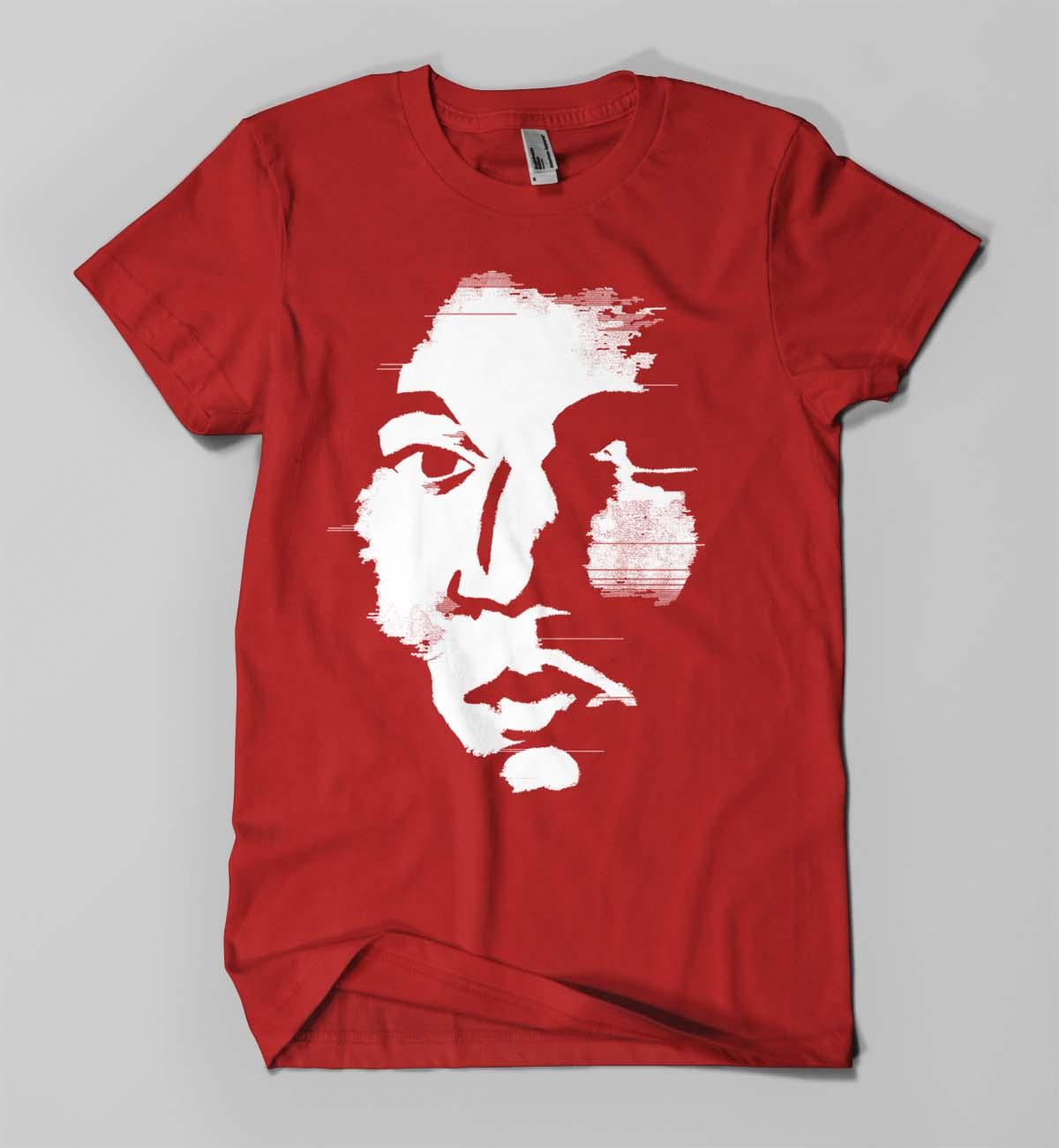Jean Michel Basquiat (on red)