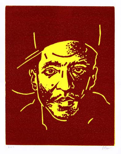 Q-Tip (1990) (Maroon + Yellow)