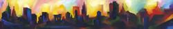 Manhattan Cityscape (Springtime)