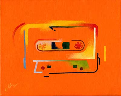 Ode to the Cassette Era (yellow)