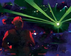 DJ Booth, Vanguard, Los Angeles
