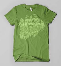 Walt Whitman (on green)