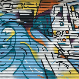 JULY: New mural in Coney Island! 1511 Mermaid Ave, Bklyn, in collaboration with the Alliance for Coney Island