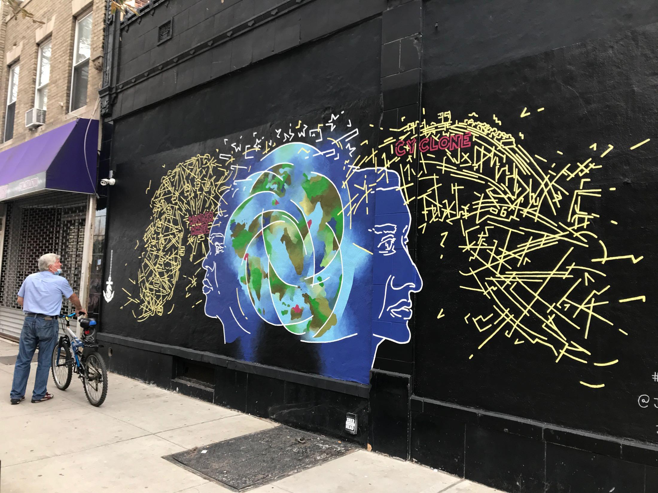Coney Island Mural4