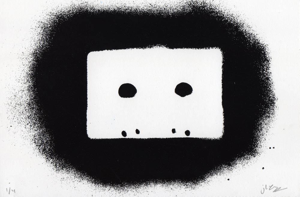 Tape Stencil (Black)