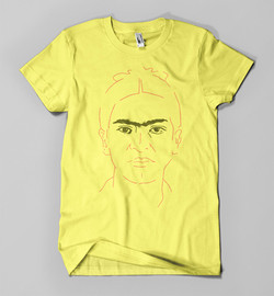 Frida Kahlo (on yellow)