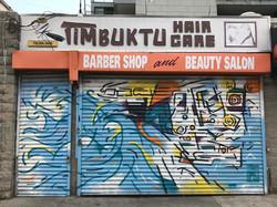 "Coney Island Mural ""Last Stop"""