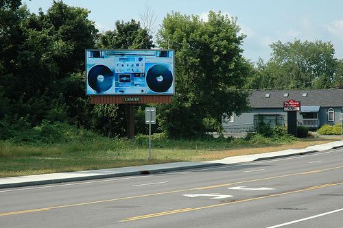 Billboard Art Project, Albany, 2012