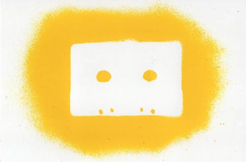 Tape Stencil (Yellow)