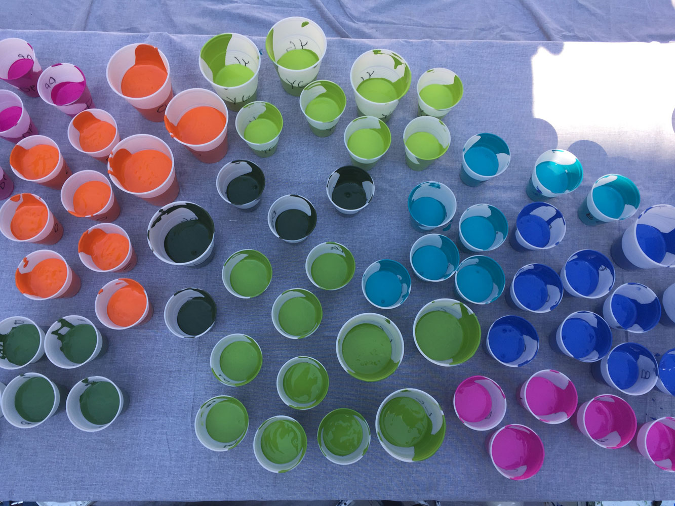 Eagles Paint Day 2017