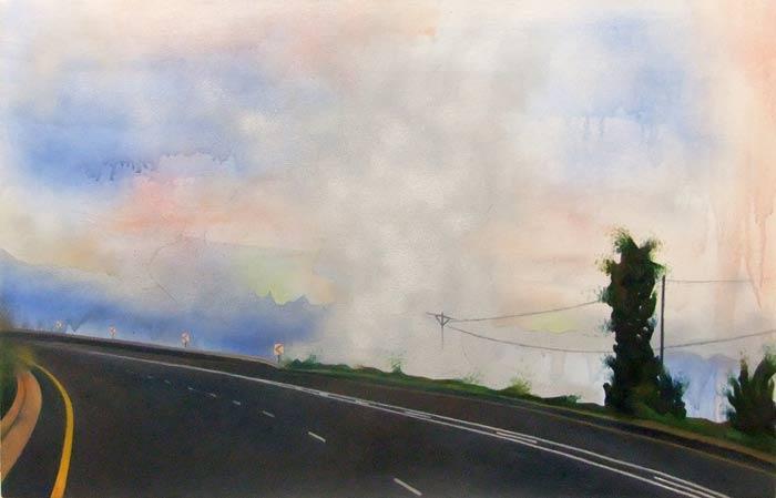 Highway Crop Burning