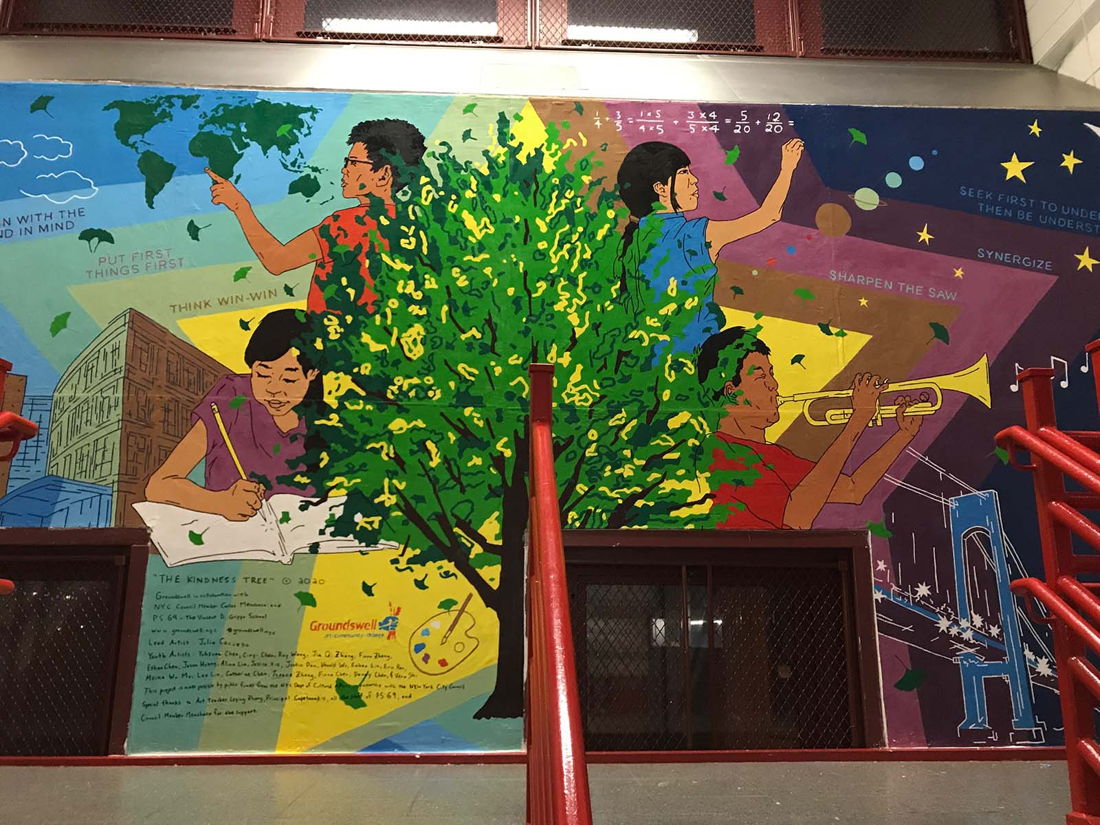 PS 69 mural
