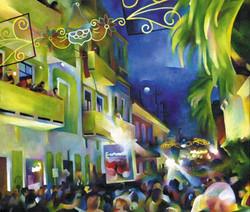 San Sebastian Festival, Old San Juan