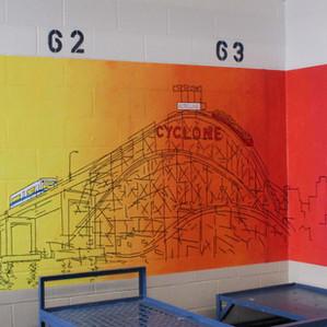 Riker's Island Murals