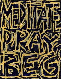 Meditate, Pray, Beg
