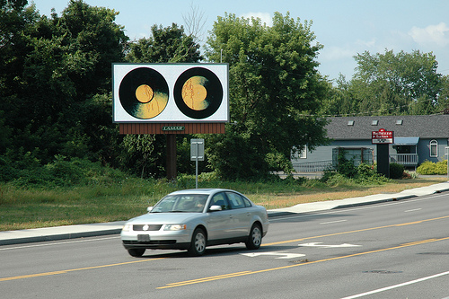 Billboard Art Project, Albany, 2012