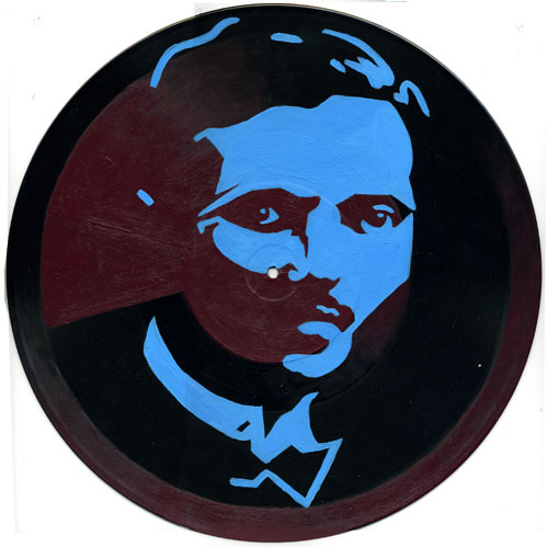 Pedro Albizu Campos (on wax)