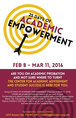 Academic Empowerment Poster
