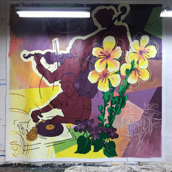 Bandwagon 2 murals