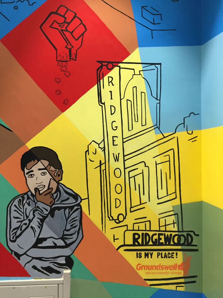 """""""Ridgewood is My Place!"""" detail"""