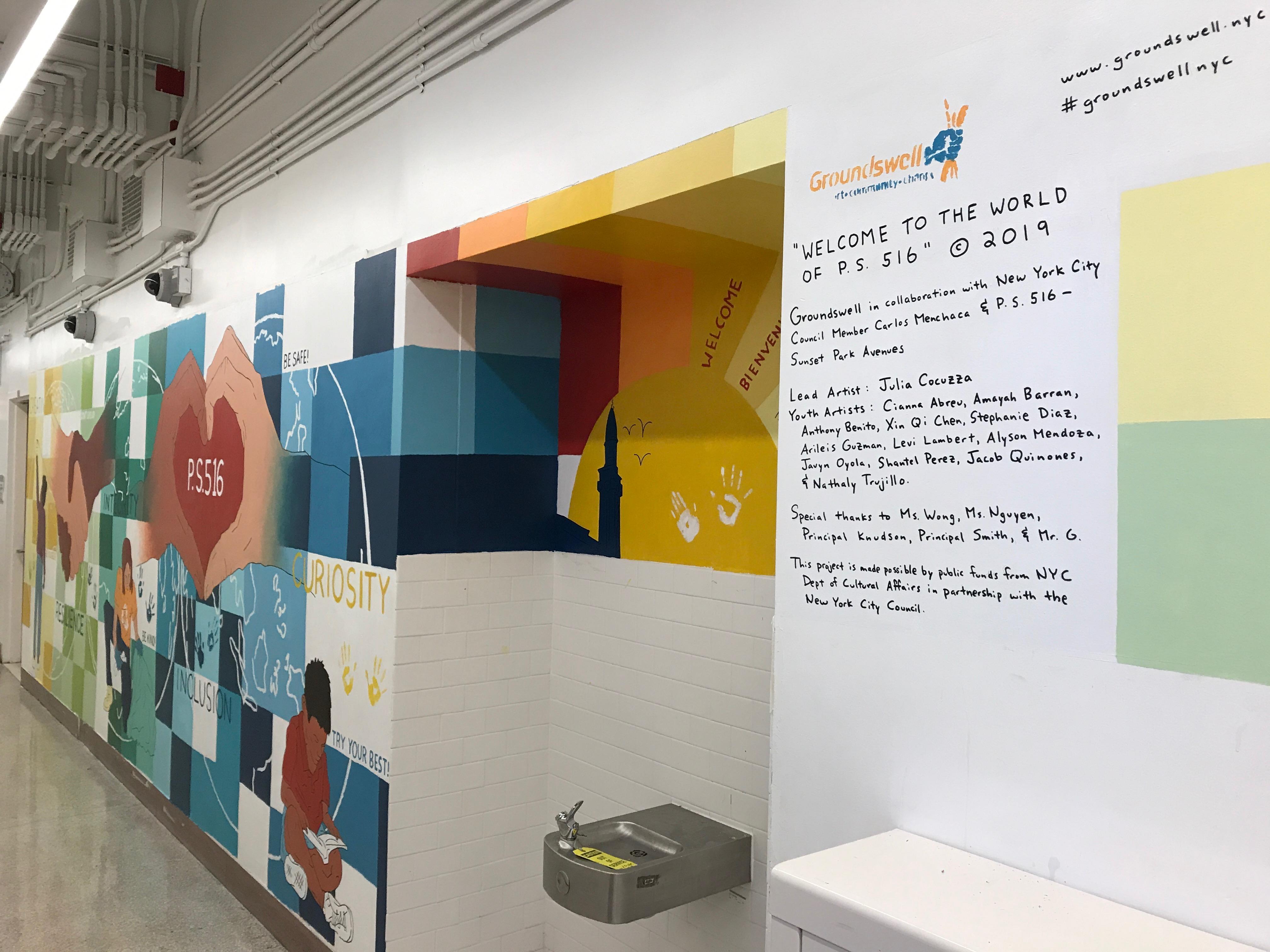 PS 516 mural