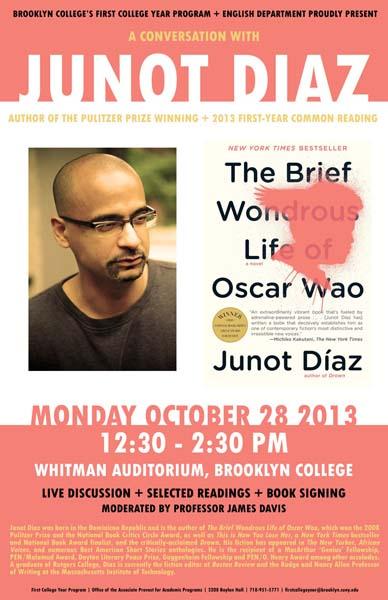 Junot Diaz (poster)