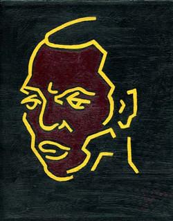 Head of Fela Kuti (2)