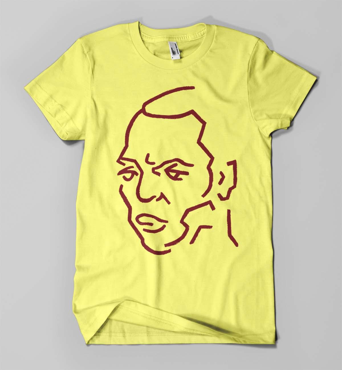 Fela Kuti (on yellow)