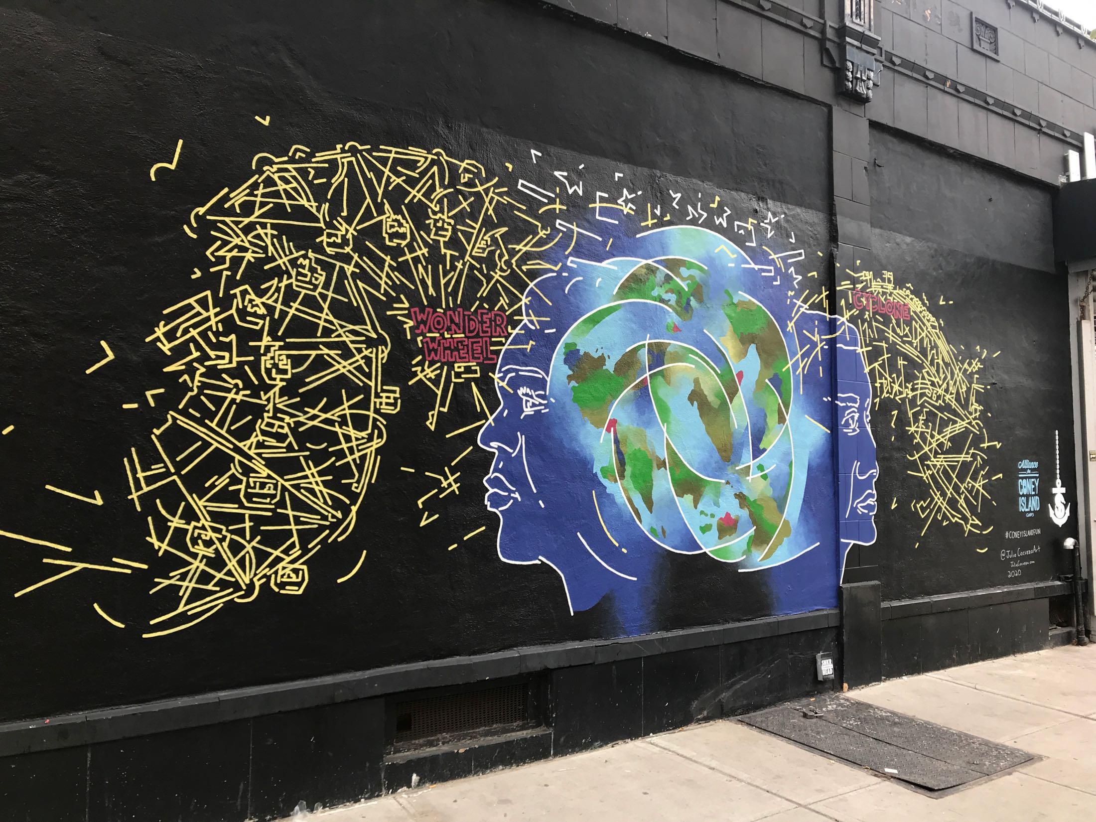 Coney Island Mural