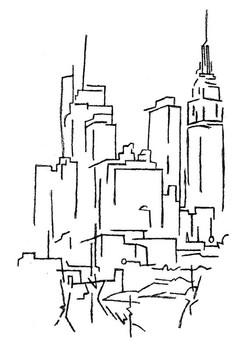 """""""Midtown Skyscrapers"""""""