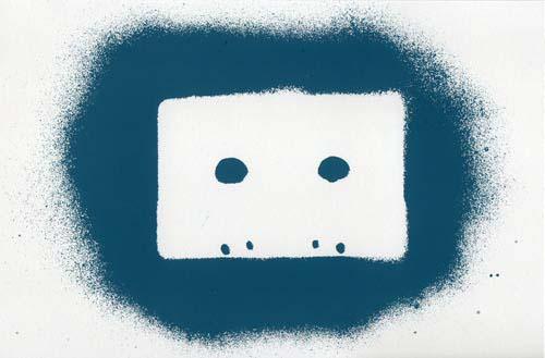 Tape Stencil (Blue)