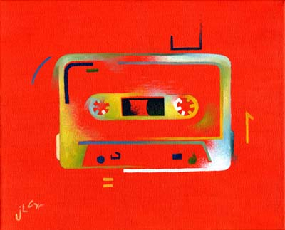 Ode to the Cassette Era (orange)