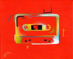 Ode to the Cassette Era (orange)
