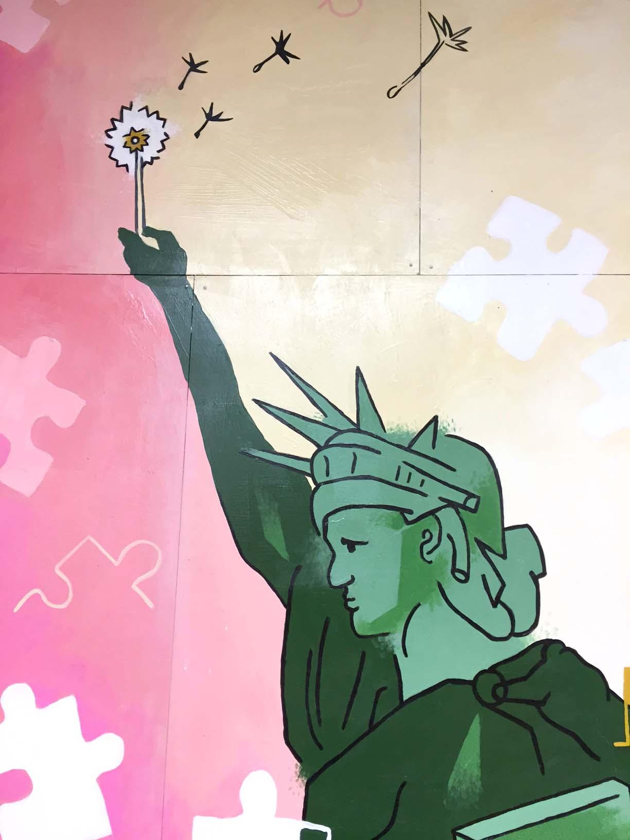 """Breathe Free, NYC"""