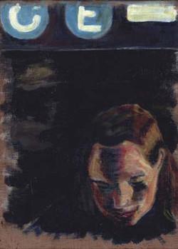 Self Portrait, C/E Train