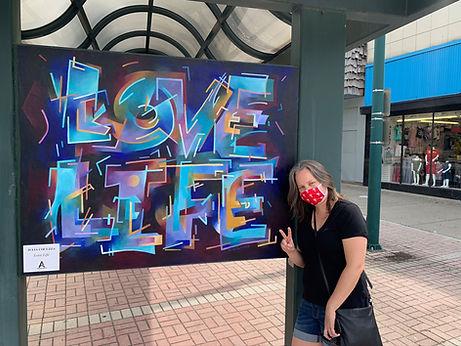 Love Life Mural