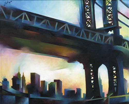 Under Manhattan Bridge (from Bklyn)